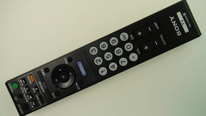 Picture of SONY LCD REMOTE CONTROL, RM-YD028, SONY REMOTE CONTROL, REMOTE CONTROL, TVPARTS