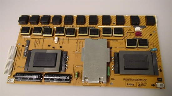 Picture of RUNTKA400WJZZ, 8NH4, SHARP INVERTER BOARD, LC-65SE94U INVERTER BOARD, NEB, E94