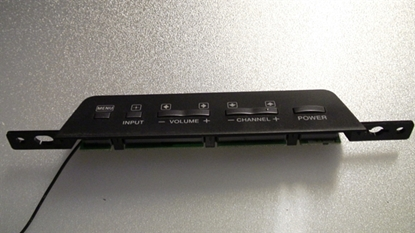 Picture of 1-857-094-11, 55.71H02.001G 2A, TV KEY BOARD, LCD KEY  BOARD, SONY LCD KEY BOARD, KDL-46S4100 KEY BOARD, NEB, 2A