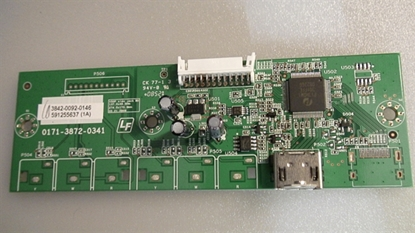 Picture of 3842-0092-0146, 0171-3872-0341, HDMI INPUT MODULE, HDMI SIDE INPUT, VP422 HDTV10A, VP322HDTV10A, VP423HDTV10A, VP503HDTV10A, VP504FHDTV10A
