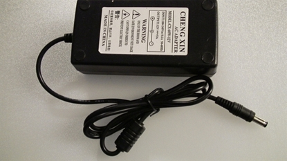 Picture of CX-60W-12, AC ADAPTER, AC 12V ADAPTER, ADAPTER 12V, ADAPTOR 12V, NEB, 5AA