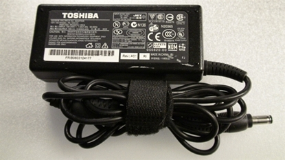 Picture of PA3467U-1ACA, PA-1650-01, N20365, TOSHIBA COMPUTER ADAPTER CHARGE, COMPUTER AC ADAPTER CHARGE, 19V ADAPTER, NEB, TH19