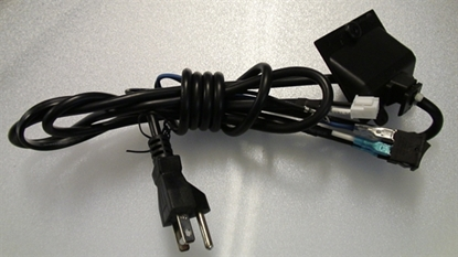 Picture of PS8A-11, E179483-G, TV AC POWER CORD, SWITCH AC POWER CORD, ELEMENT AC POWER CORD, ELEFT422 AC POWER CORD, NEB, CSW1
