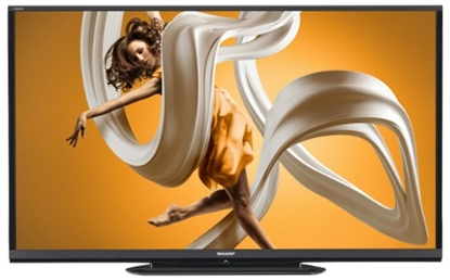 Picture of LC-60LE550U, SHARP 60 LED TV, SHARP LC-60LE650U 60-inch Aquos HD 1080p 120Hz Smart LED TV