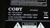 Picture of TFTV3925, COBY LCD TV SCREWS, COBY LCD TV SCREWS, TV SCREW, COBY STANDS TV SCREWS, TV STANDS SCREWS