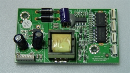 Picture of 303C3901063, TV3901-ZC02-01(C), E310726, EW39T5KW, TW-67801-A039A, WESTINGHOUSE 39 LED TV BACKLIGHT DRIVER BOARD
