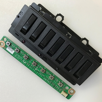 Picture of 1801-0428-0040, 180104280040, LC-48LE551U, LC48LE551U, SHARP 48 LED TV KEYPAD MODULE