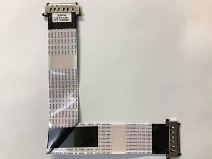 Picture of 1156729, 160407, 43H7C2, 43H7C, LC43N6100U, LC43N610CU, LC43N6100U, HISENSE 43 LVDS RIBBON CABLE