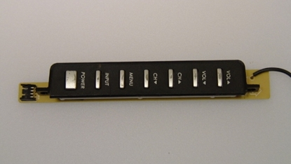 Picture of 715T2470-1, E168066, TV KEY PAD FUNCTION, ENVISION KEY PAD FUNCTION, L32W761