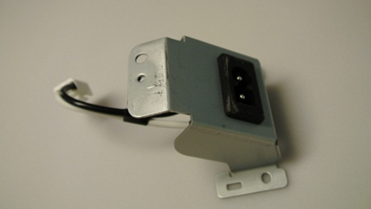 Picture of 1EM325698A, A91H2UH, AC INLET, AC FILTER LINE, LD427SSX, 42MD459B/F7, 42PFL3704D/F7, LC427SSX, 42MF439B/F7, 40PFL3705D/F7, 46PFL3705D/F7, 46MF440B/F7, 40PFL3505D/F7, 46PFL3505D/F7, 46MF401B/F7, 40HFL2082D/F7, PHILIPS LCD TV AC INLET